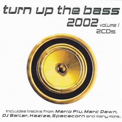 Turn Up The Bass 2002 - Volume 1 (2CD) Diverse artister
