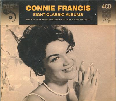 Connie Francis - Eight Classic Albums (4CD)