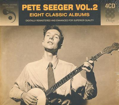 Pete Seeger Vol. 2 - Eight Classic Albums (4CD)