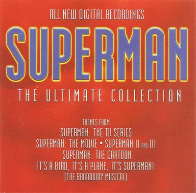 Superman - The Ultimate Collection (CD) - Filmmusikk - Diverse artister
