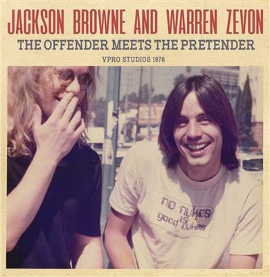 Jackson Browne and Warren Zevon - The Offender Meets the Pretender (CD)