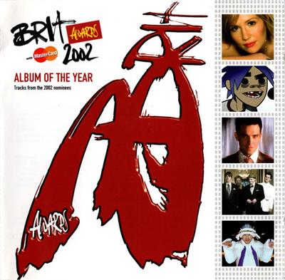 Brit Awards 2002 Hits - Album Of The Year (2CD) Diverse artister